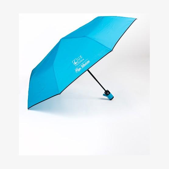 Dáždnik skladací TV LUX - modrý