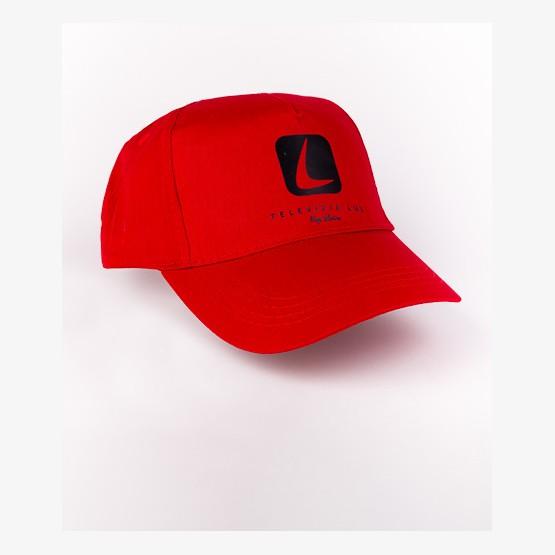 Šiltovka TV LUX - červená