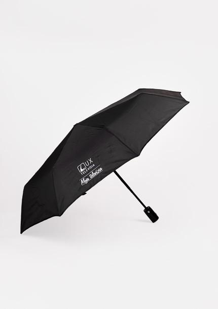 Dáždnik skladací TV LUX - čierny
