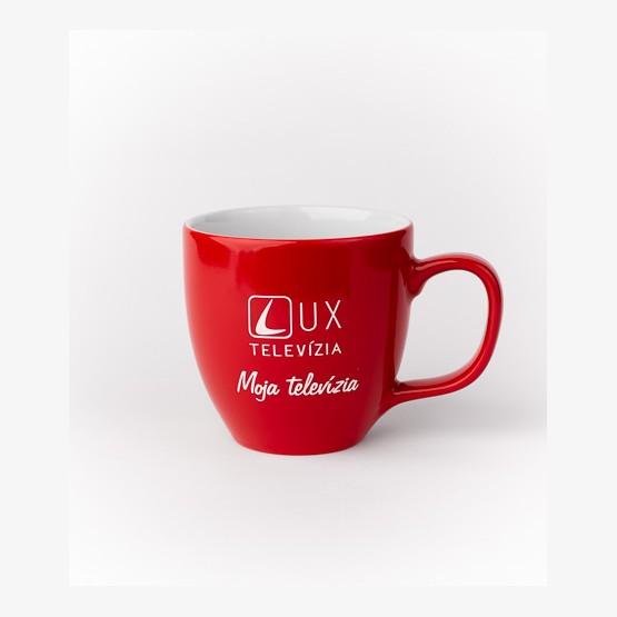 Hrnček TV LUX - červený