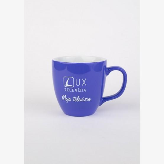 Hrnček TV LUX - fialový