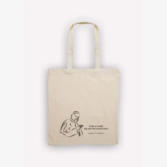 Nákupná bavlnená taška TV LUX s...