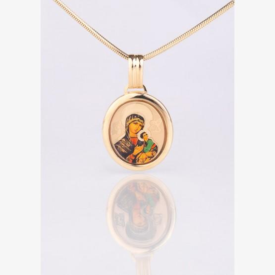 Zlatý medailón Matky Ustavičnej Pomoci