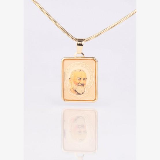 Zlatý medailón sv. Pátra Pia