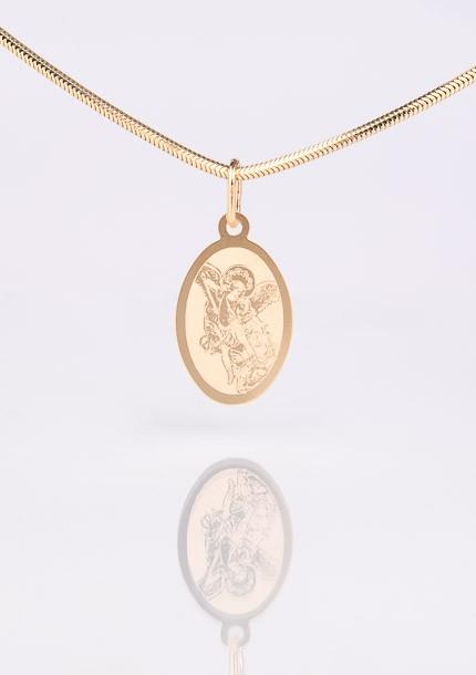 Zlatý medailón sv. Michaela Archanjela