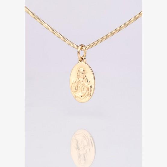 Zlatý Škapuliarsky medailón