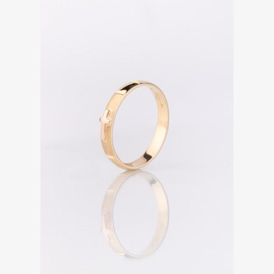 Zlatý ružencový prsteň