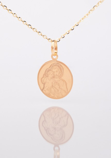 Zlatý medailón svätého Jozefa